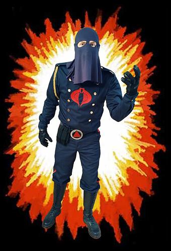 Cobra Commander BACKGROUND